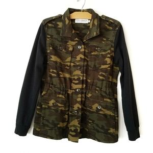 Gypsy Warrior camouflage army utility jacket